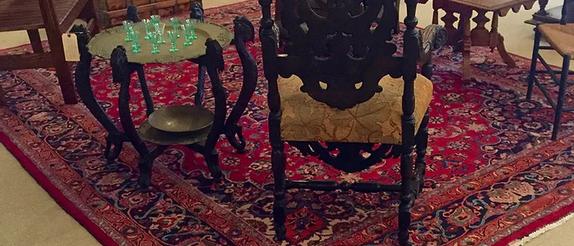 Signed Mashad Carpet