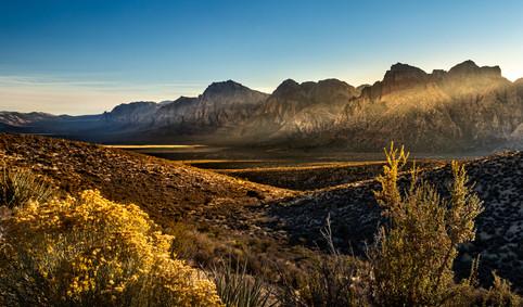 Red Rock Nevada Sunset