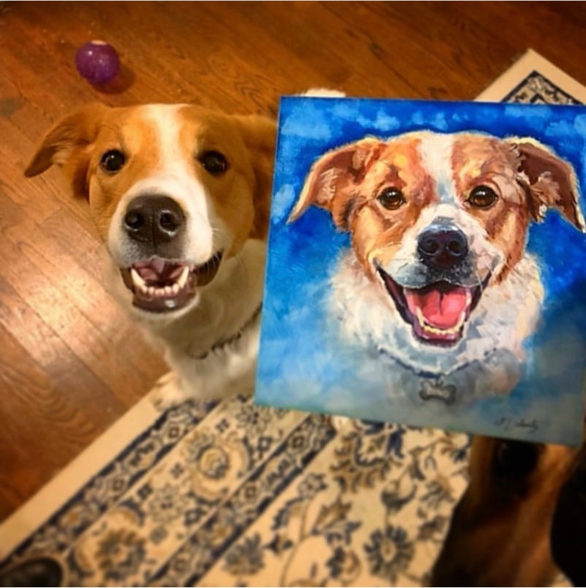 pet with painting1.jpg