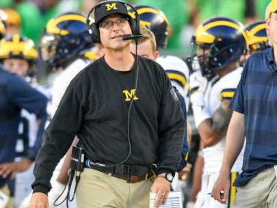 Jim Harbaugh in whatever-it-takes mode as he tries to lead Michigan back to top of Big  Ten