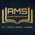 AMS - Logo with colour and background