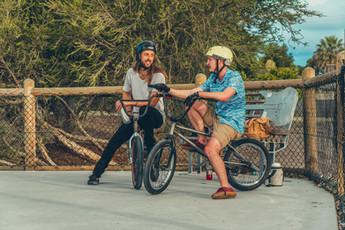 Ross and Ben BMX