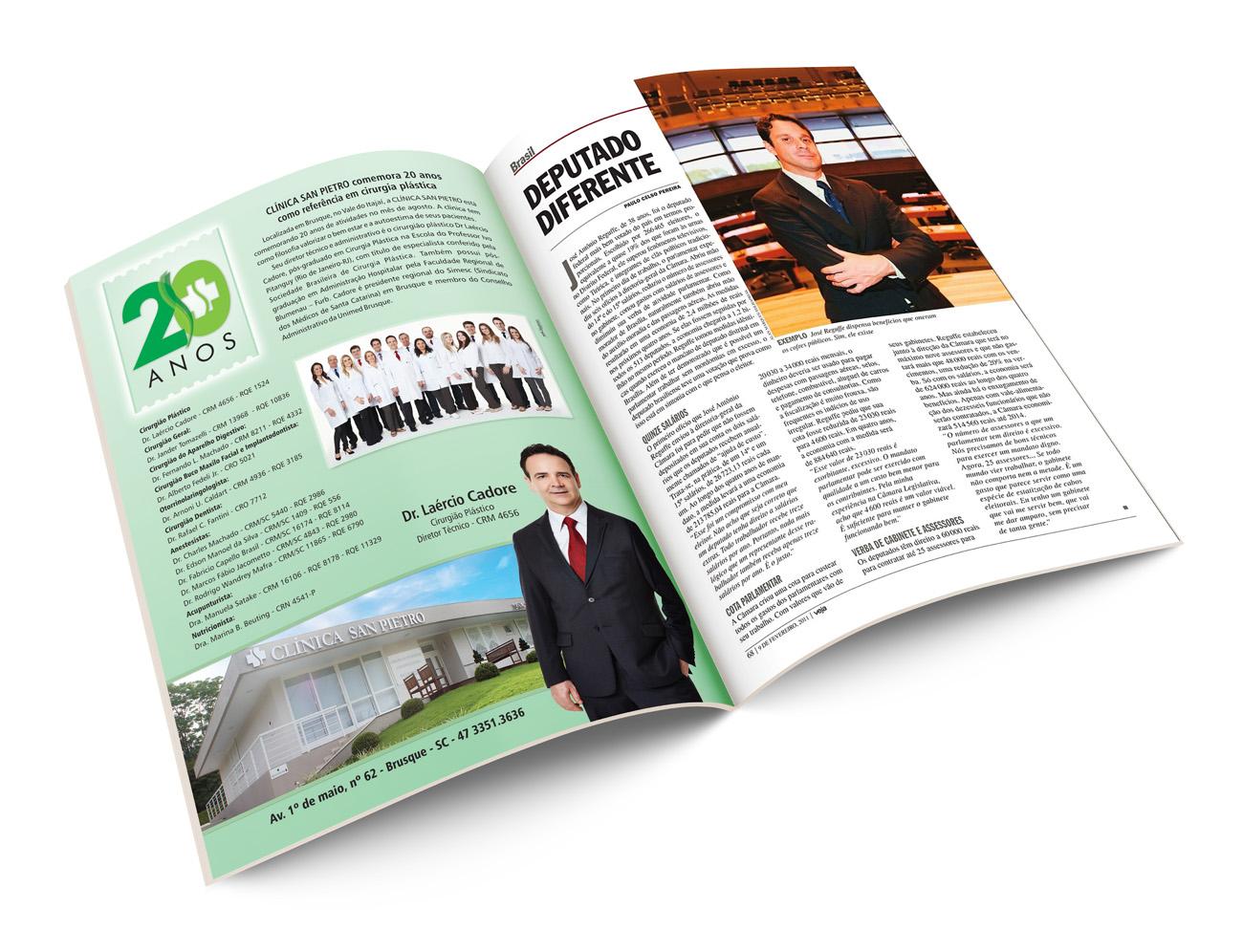 Revista VEJASC - Láercio Cadore