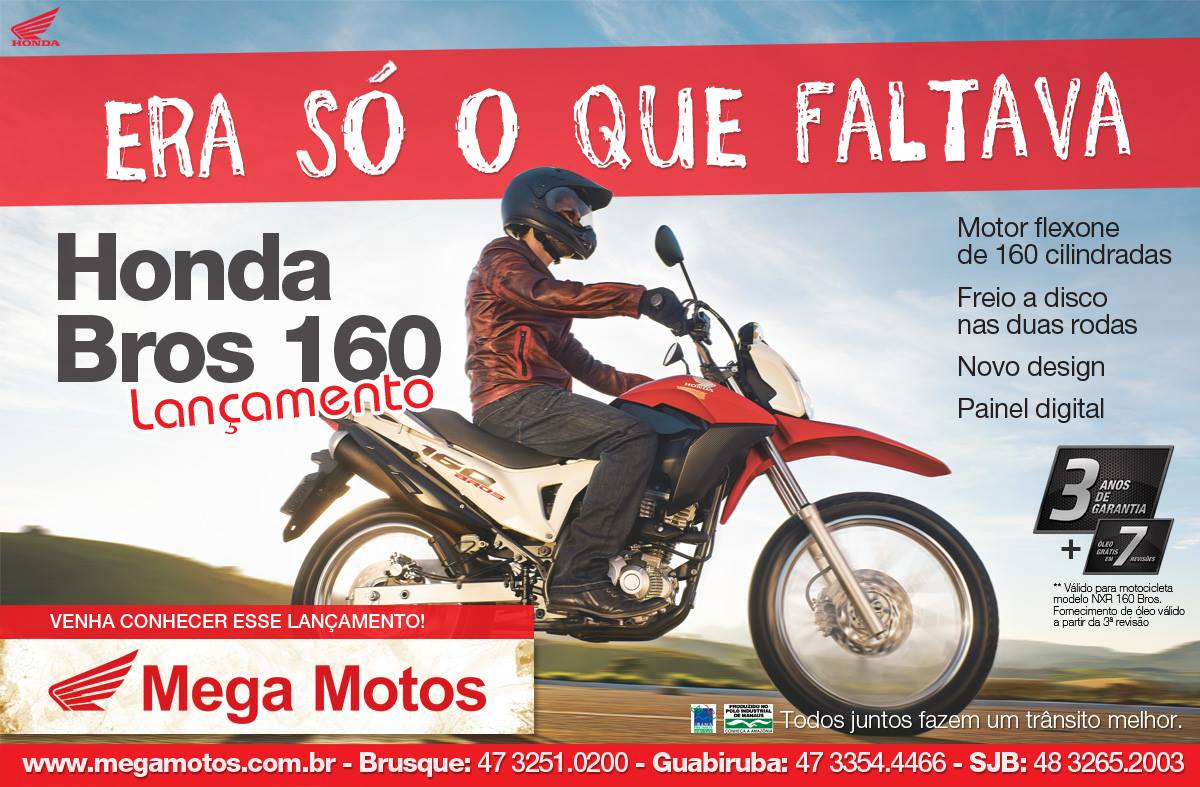 Anúncio Mega Motos