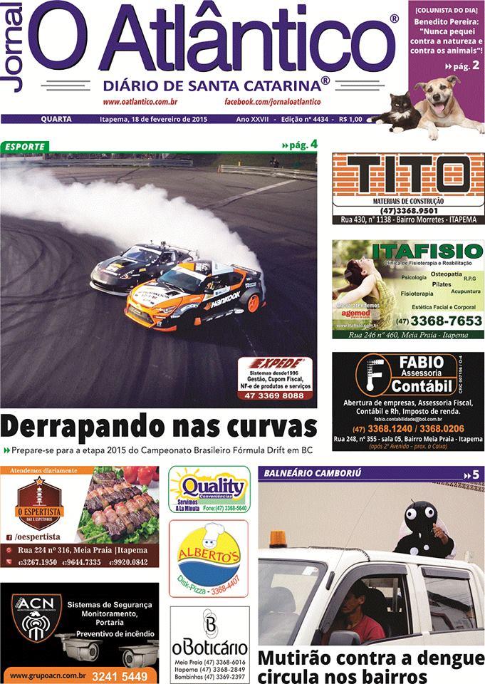 Fórmula Drift - Jornal O Atlântico