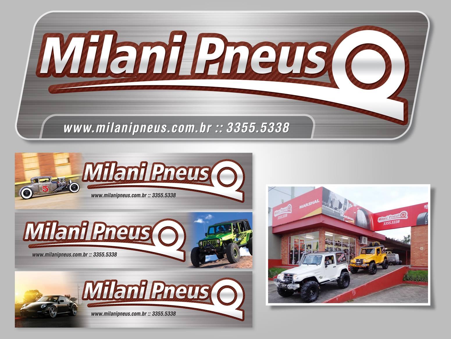 Adesivo e quadros - Milani Pneus