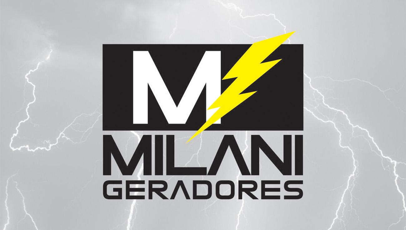 Logomarca MILANI GERADORES