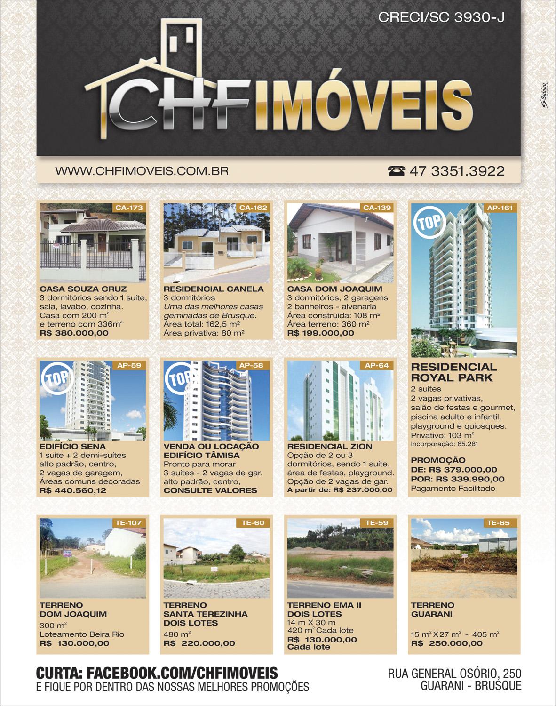 Página de Jornal - CHF Imóveis