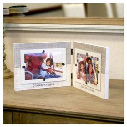 """B.P. Industries Multiple Image Frame (4""""X6"""") Natural"""