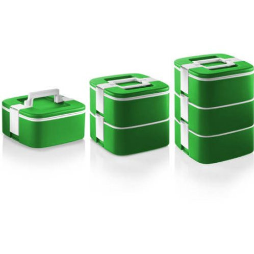 Ozeri ThermoMax Stackable Lunch Box and Double-Wall Insulated Storage Container