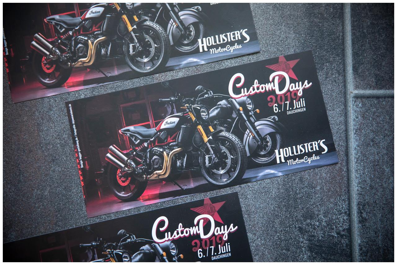 Foto für Flyer Hollister's Custom Days 2019