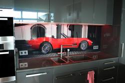 Küchenrückwand Corvette