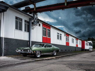 Neues Fotoshooting: 1971 Ford Torino GT