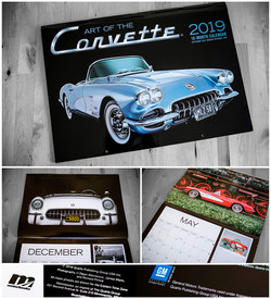 Art of the Corvette Kalender 2019