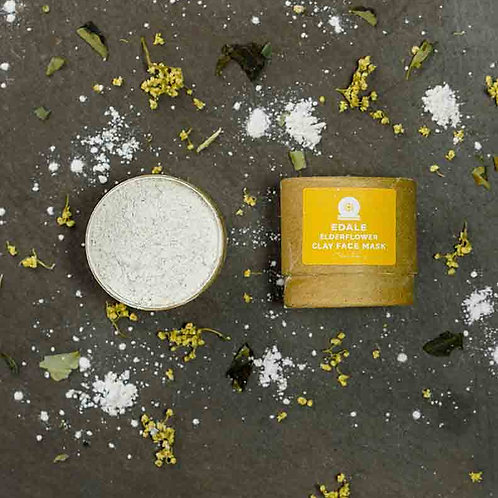 Edale Elderflower Clay Face Mask (12g)