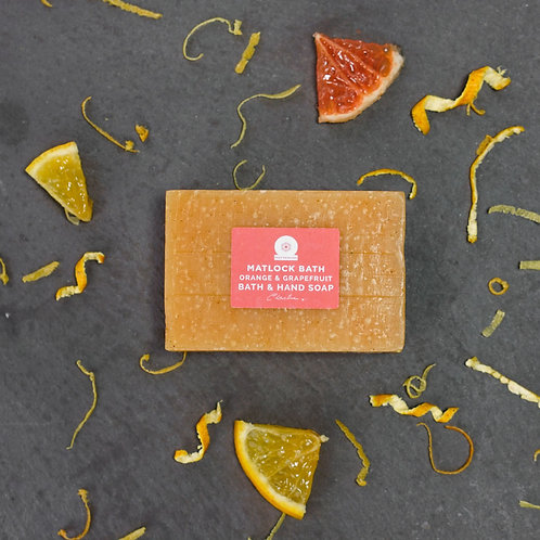Matlock Bath Orange & Grapefruit Soap (95g)