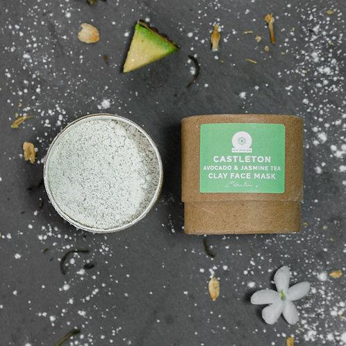 Castleton Avocado & Jasmine Tea Clay Face Mask (12g)