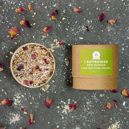 Ladybower Rose Blossom Cleansing Grains (12g)