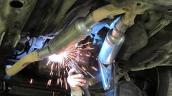 ремонт и тюнинг выхлопной системы