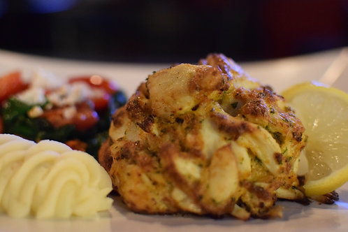 Crab Cakes - Two (2) Six-Ounce Colossal Lump Crab Cakes