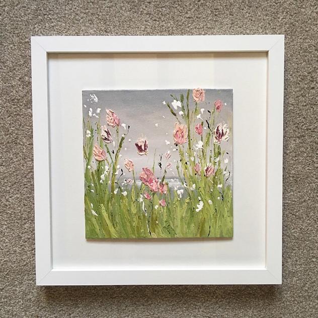 tulips framed