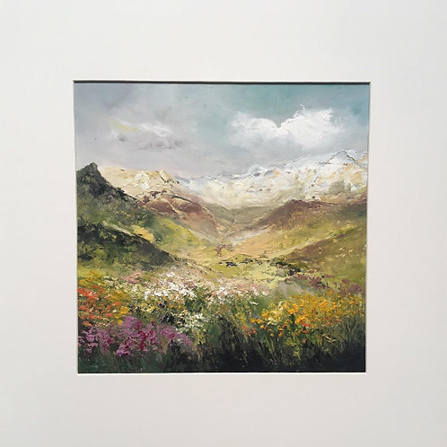 Spring in mountains II