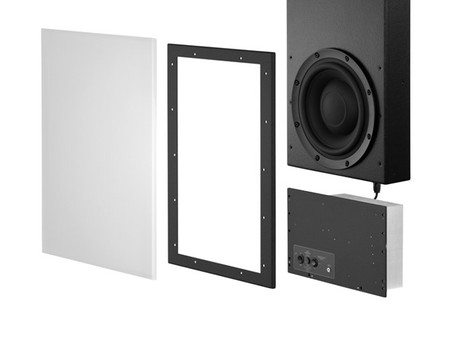 New Meridian in-wall subwoofer