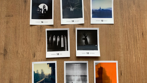 published polaroids