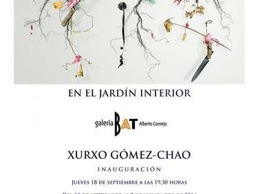 EN EL JARDIN INTERIOR. GALERIA BAT