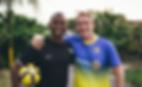 Chris Kaimmer. Founder of Woza Soccer.