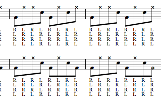 8th Note Latin Grooves