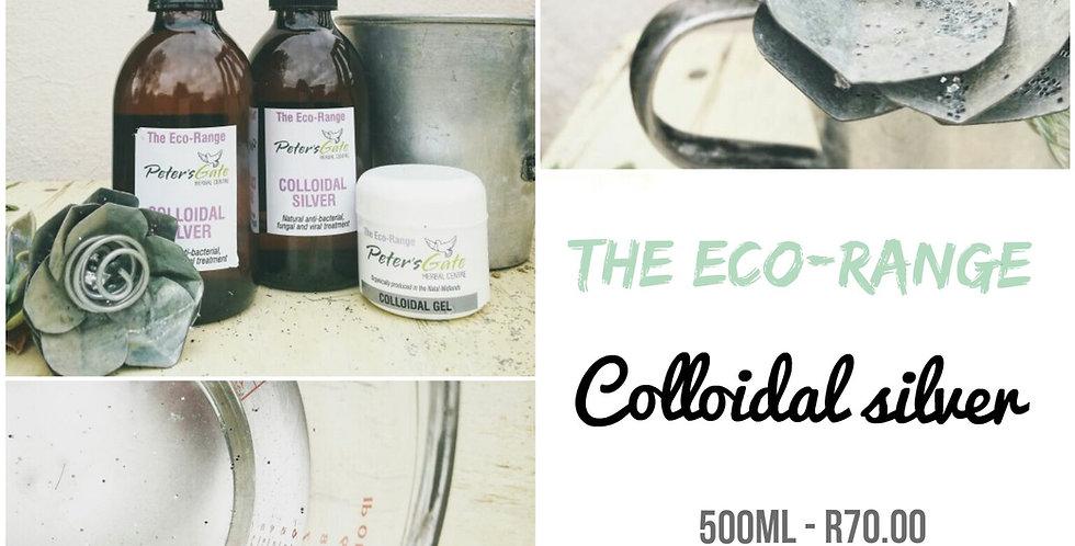 The Colloidal Silver range