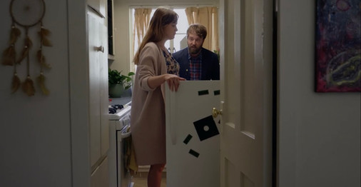 'Fully Realized Humans' Exclusive Clip: A Couple Argues Over Hummus In Joshua Leonard's Pregnancy Dramedy
