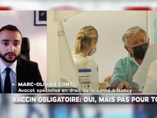 Revue de presse. Intervention de Me Marc-Olivier Conti sur la chaîne d'information LCI