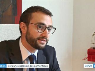 Revue de presse. Interview de Me Marc-Olivier Conti - Reportage de France 3 Grand-Est