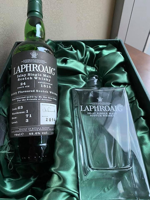 Laphroaig 24 Year Old for Her Soon Seng Singe Cask No.63 Warehouse #1