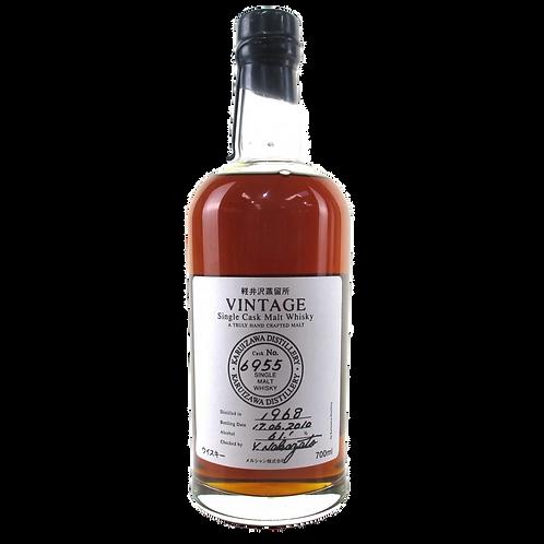 KARUIZAWA VINTAGE Single Cask Malt Whisky Cask#6955