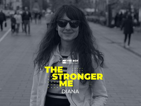 The Stronger Me - Diana Galmati