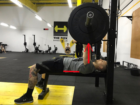 4 easy steps for a better bench press!