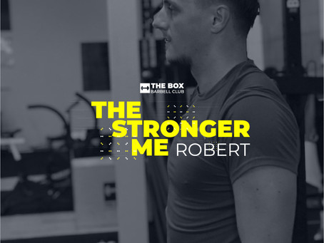 The Stronger Me - Robert Gergely