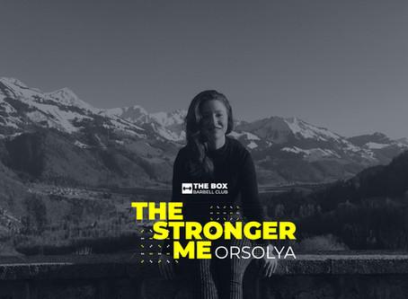 The Stronger Me - Orsi Laszlo