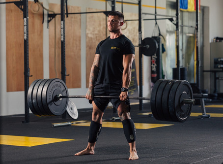 Round back and deadlift