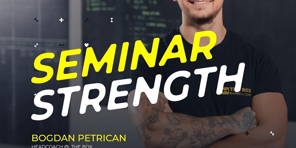 Strength Seminar by Coach Petrican