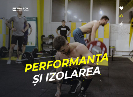 Performanta si izolarea