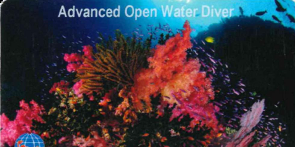 Presentazione corso Advanced Open Water Diver