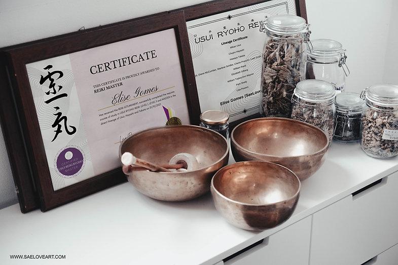 reiki certificate real lineage proficiency certificado linhagem reiki real valido internac