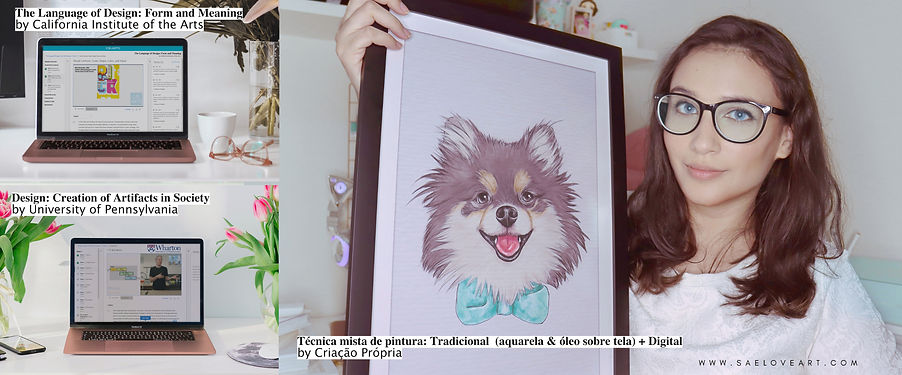 Curso de arte, diploma, Técnica de pintura tradicional com pintura digital, free.