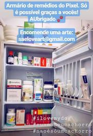 Pixel's medicine cabinet