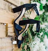 Navy wedding shoes in Idaho