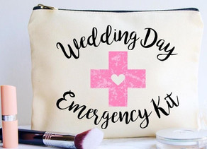 What To Put In Your Wedding Day Emergency Kit